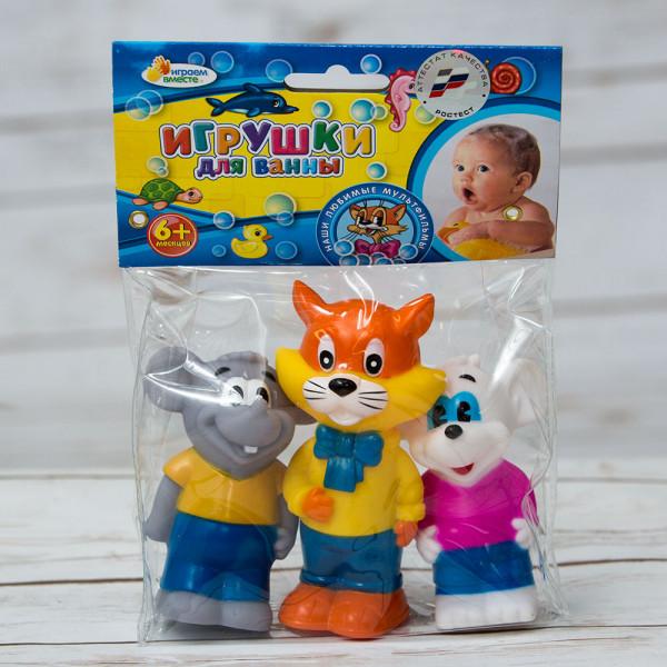 Кот Леопольд и мыши - игрушка