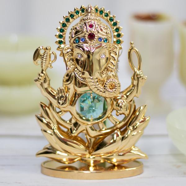 Ganesh souvenir with Swarovski crystals
