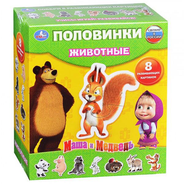 макси пазлы маша и медведь