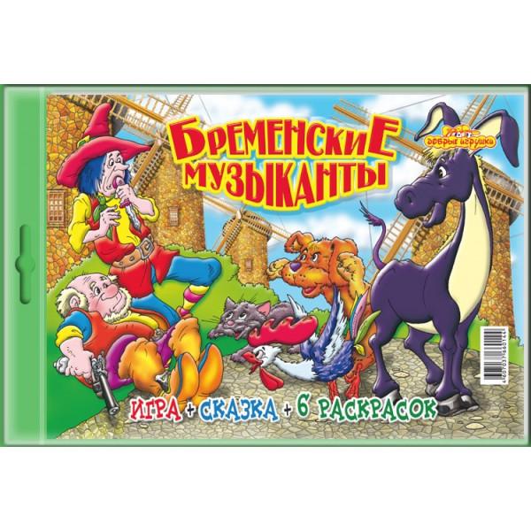 Настольная игра для детей Бременские музыканты