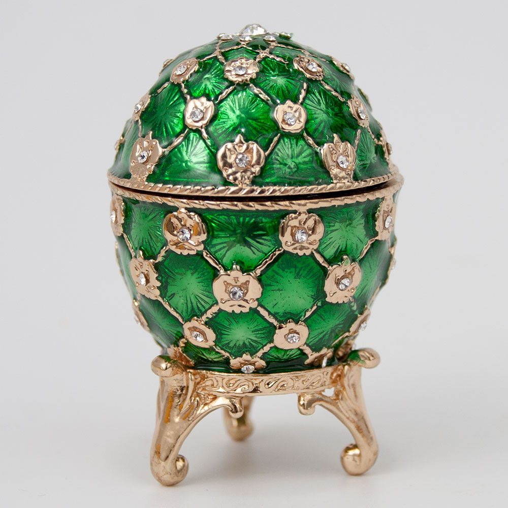 Jewelry Box Faberge Egg Imperial Coronation Egg