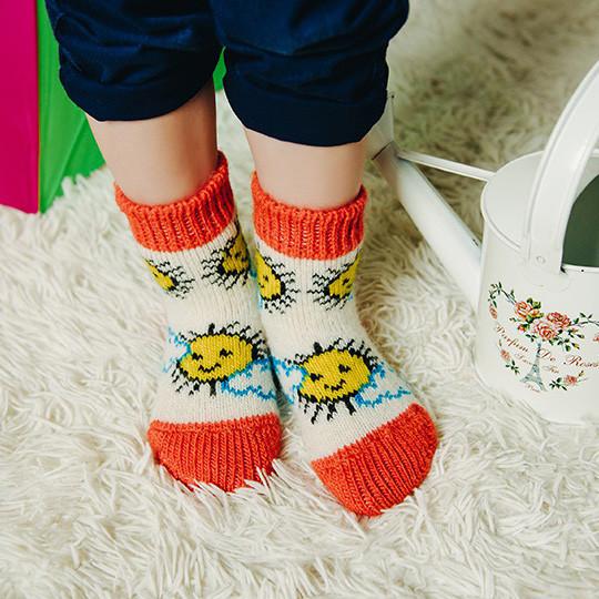 Children's wool socks