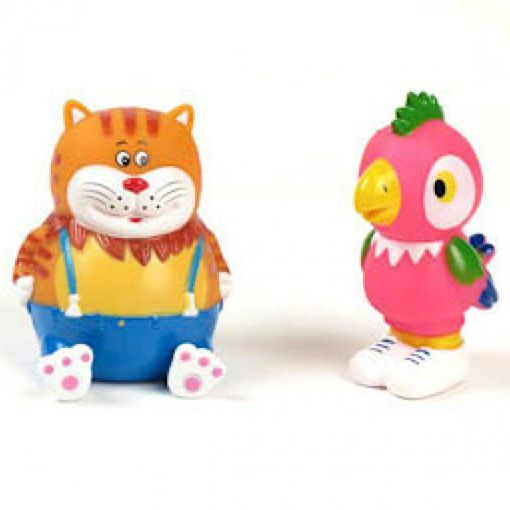 Bath toys Kesha and the Cat