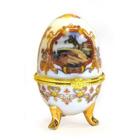 "Egg Jewelry box ""St. Petersburg"""