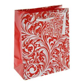 "Paper Bag ""Red and white pattern"""
