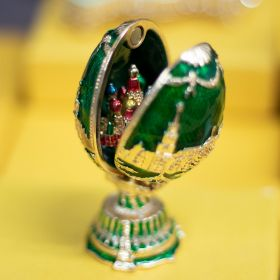 "Easter Egg ""Moscow. St. Basil's Cathedral"""
