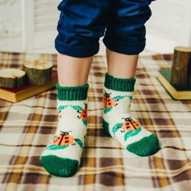 Children's wool socks