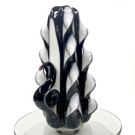 Swan Black candle romantic candles