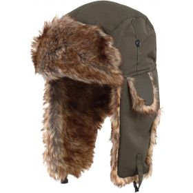 Ushanka with Faux Fur & Ear Flaps