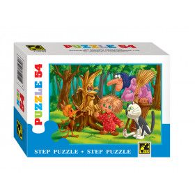 Puzzles for kids MINI - Browny Kuzya
