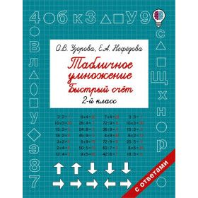 Multiplication and division. Quick learning. Grade 3-4 / Быстрый счет
