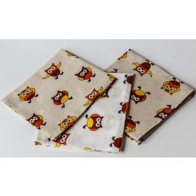 "Kitchen Towel Set ""Owls"" 3 pc"