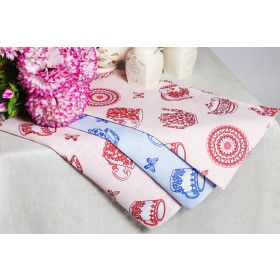 "Kitchen Towel Set ""Dishes"" 3 pc"