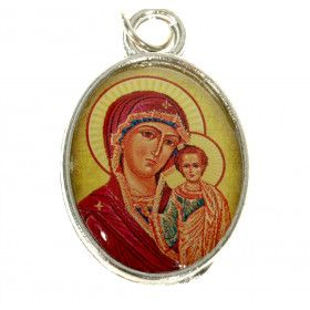 Orthodox Pectoral Icon of the Mother of God of Kazan