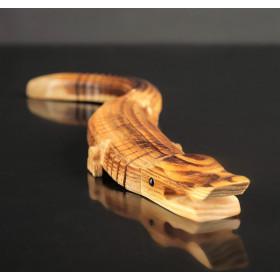"""Сувенир деревянный """"Крокодильчик"""", подвижный, 40 см"""