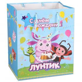Детский подарочный пакет - Лунтик | 32