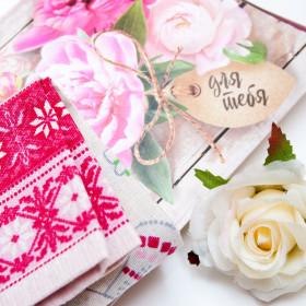 Подарки для женщин (полотенце)