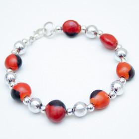 Amulet Peruvian Bracelet for Women - Huayruro - Handmade Jewelry