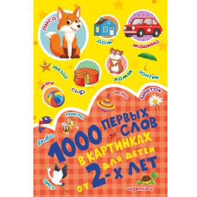 Книга 1000 первых слов в картинках Пирожник Светлана Сергеевна