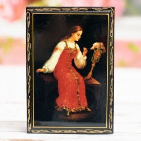 "Storage Box ""Portrait"" lacquer miniatures"