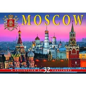Набор открыток Москва (32 открытки)