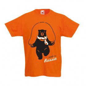 Детская Футболкa Made in Russia / t-shirt Made in Russia