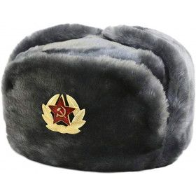 Russian Ushanka Hat XL