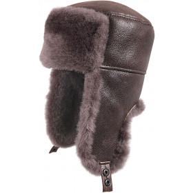 Russian Ushanka Winter Fur Hat - size M