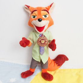 Fox - stuffed toy / зверополис