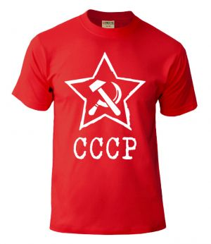 t-shirt ussr red
