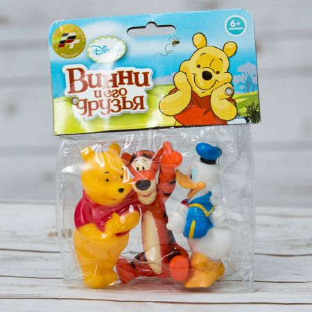 Bath toys Winnie the Pooh