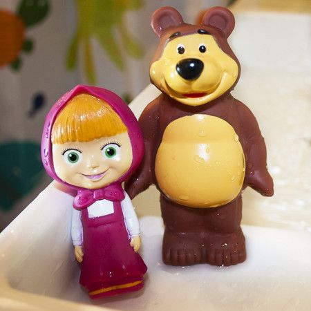 Bath toys Masha and the Bear