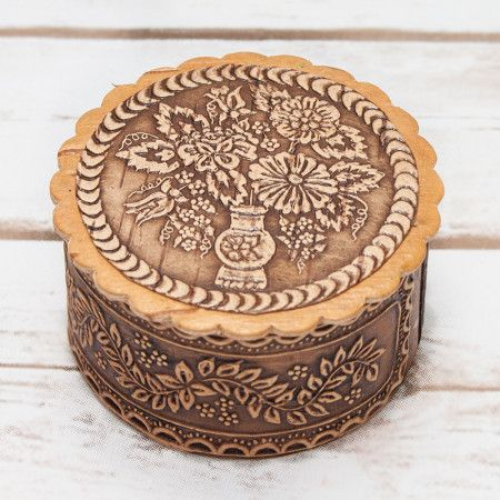 Jewelry wooden box