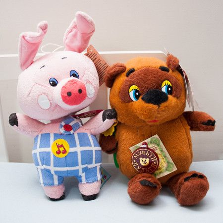 Winnie the Pooh and Piglet Soft toys set