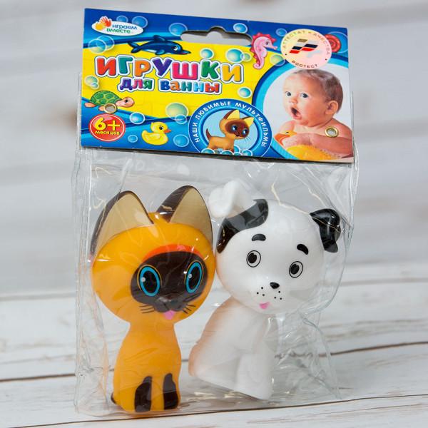 Игрушка для купания котенок Гав