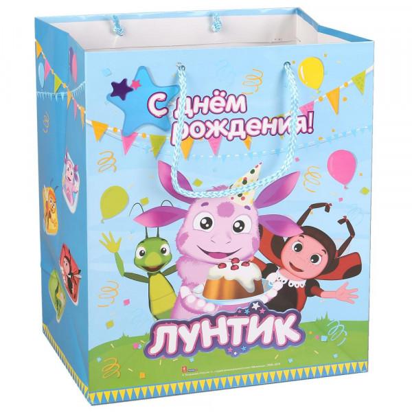 Лунтик - подарочный пакет