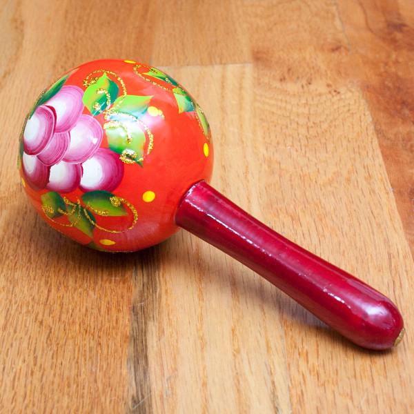 wooden Rattle Ball