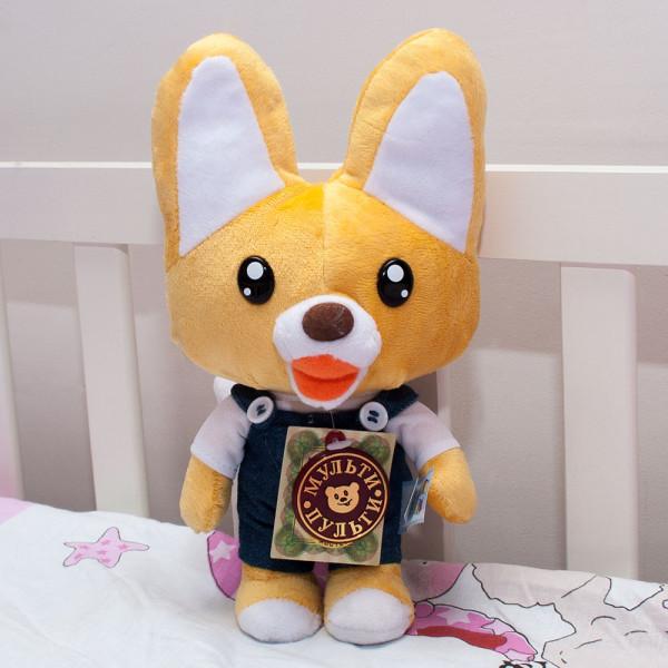 лисёнок Эдди russian speaking toy