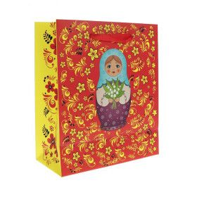 "Пакет ""Матрёшка"" / Gift package matryoshka doll"