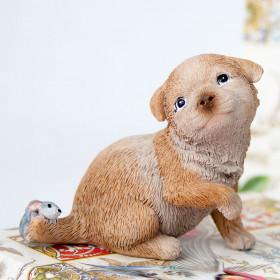 Сувенир «Пёсик с мышонком»