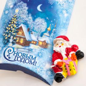 Магнит «Весёлый Дед Мороз» в подарочной упаковке