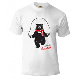 Футболкa Made in Russia / T-shirt Made in Russia